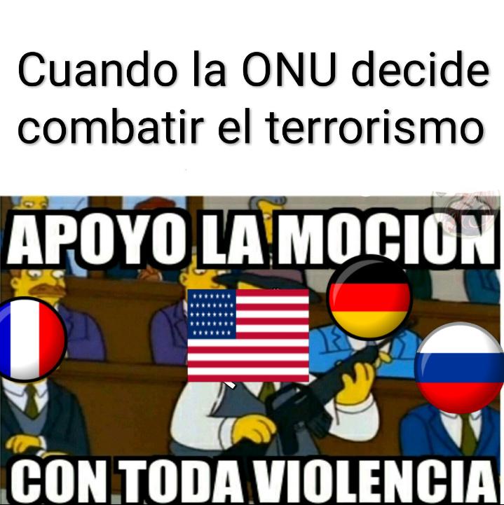 Estis gringos y la violencia. PD: plantilla robada - meme