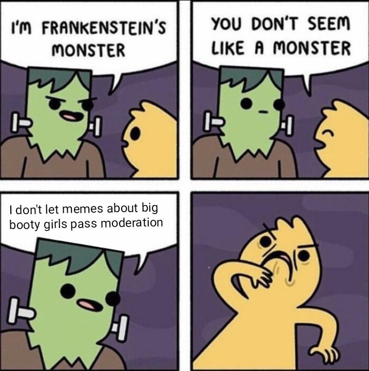 Just let them through - meme