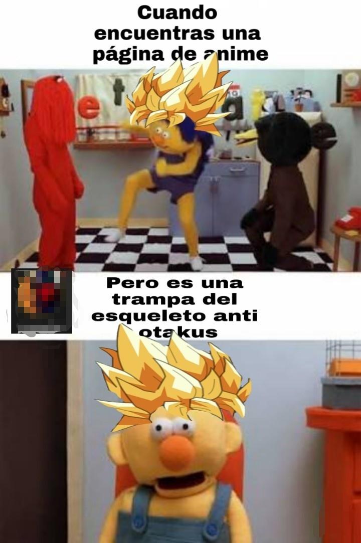 Pinches otakus - meme