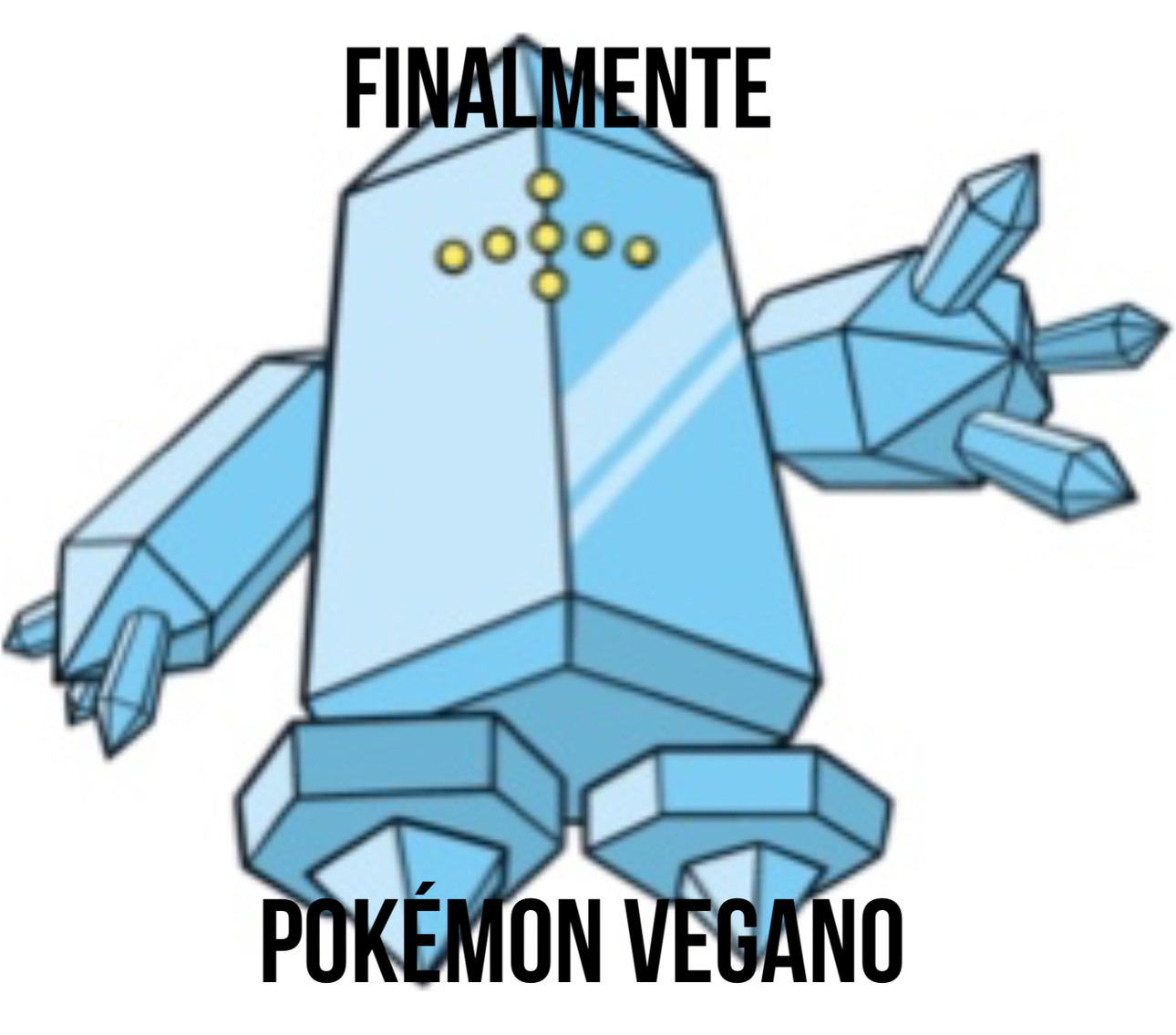 Pokémon vegano - meme