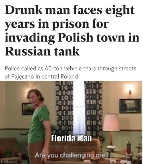 Florida man - meme