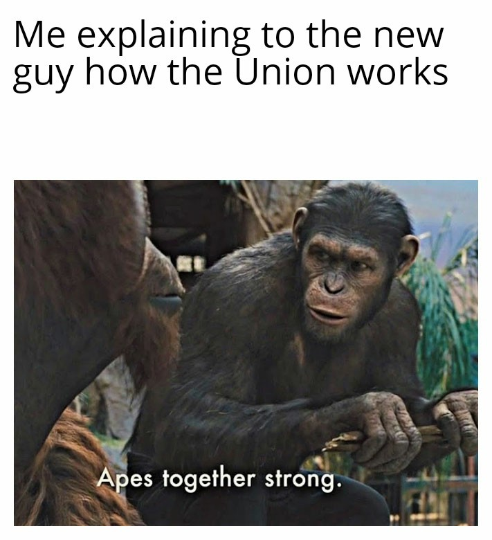 Union proud..... - meme