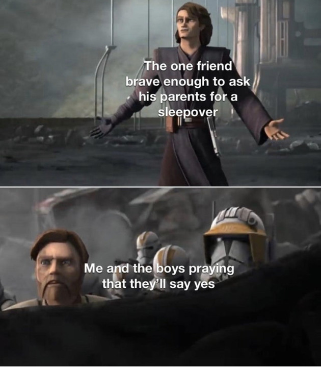 He was always the bravest one - meme
