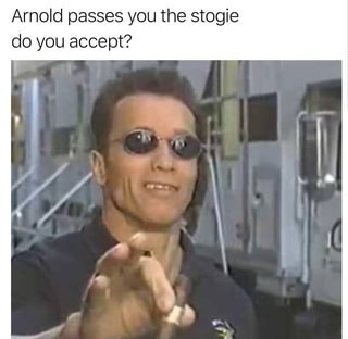 I accept - meme