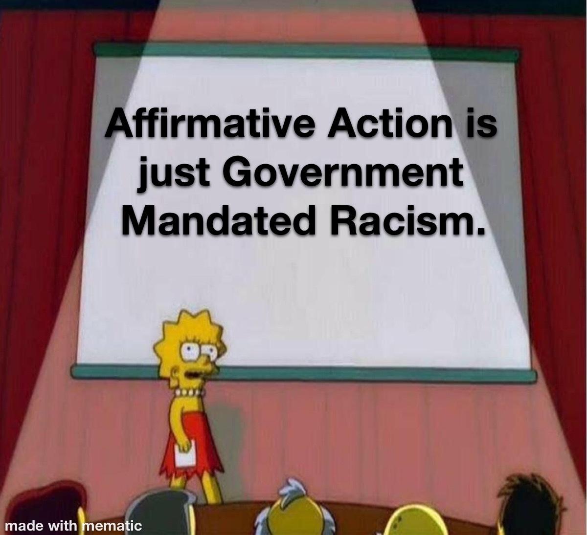 Racism = Racism - meme