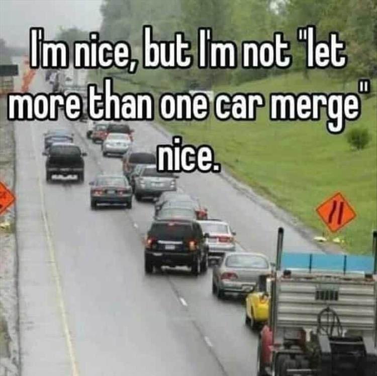 I'm nice but…. - meme