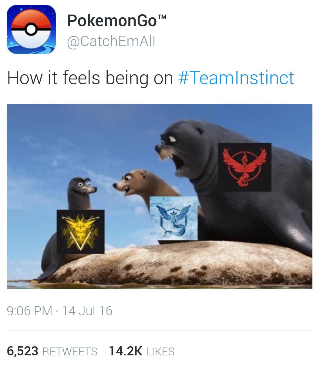 team mystic ftw!! - meme