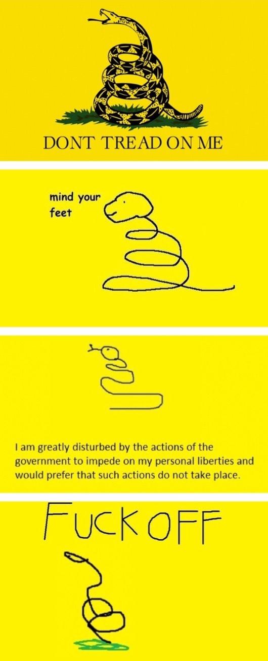 no step on snek - meme