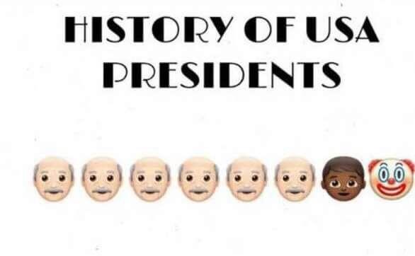 historia de los presidentes de usa - meme