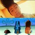 Quien vive en una piña debajo del mar