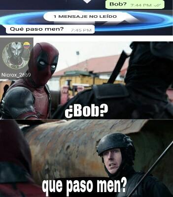Wade? - meme