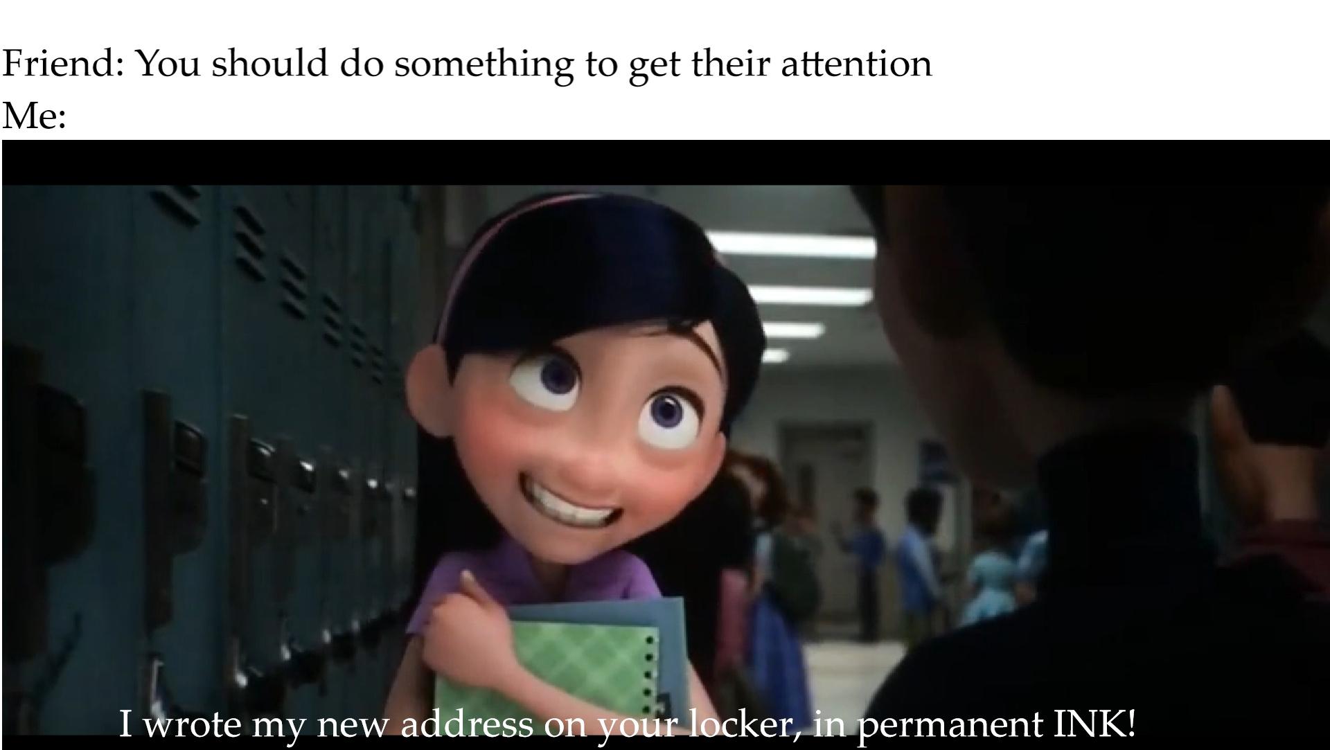 Violet eats ass - meme