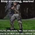 Better be using WiFi bois