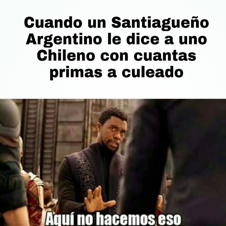 Un amigo de salta me dijo que los santiagueños hacen cosas con sus primirijillas - meme