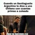 Un amigo de salta me dijo que los santiagueños hacen cosas con sus primirijillas
