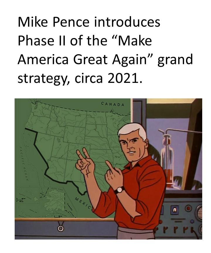 Mike Pence MAGA Phase II - meme