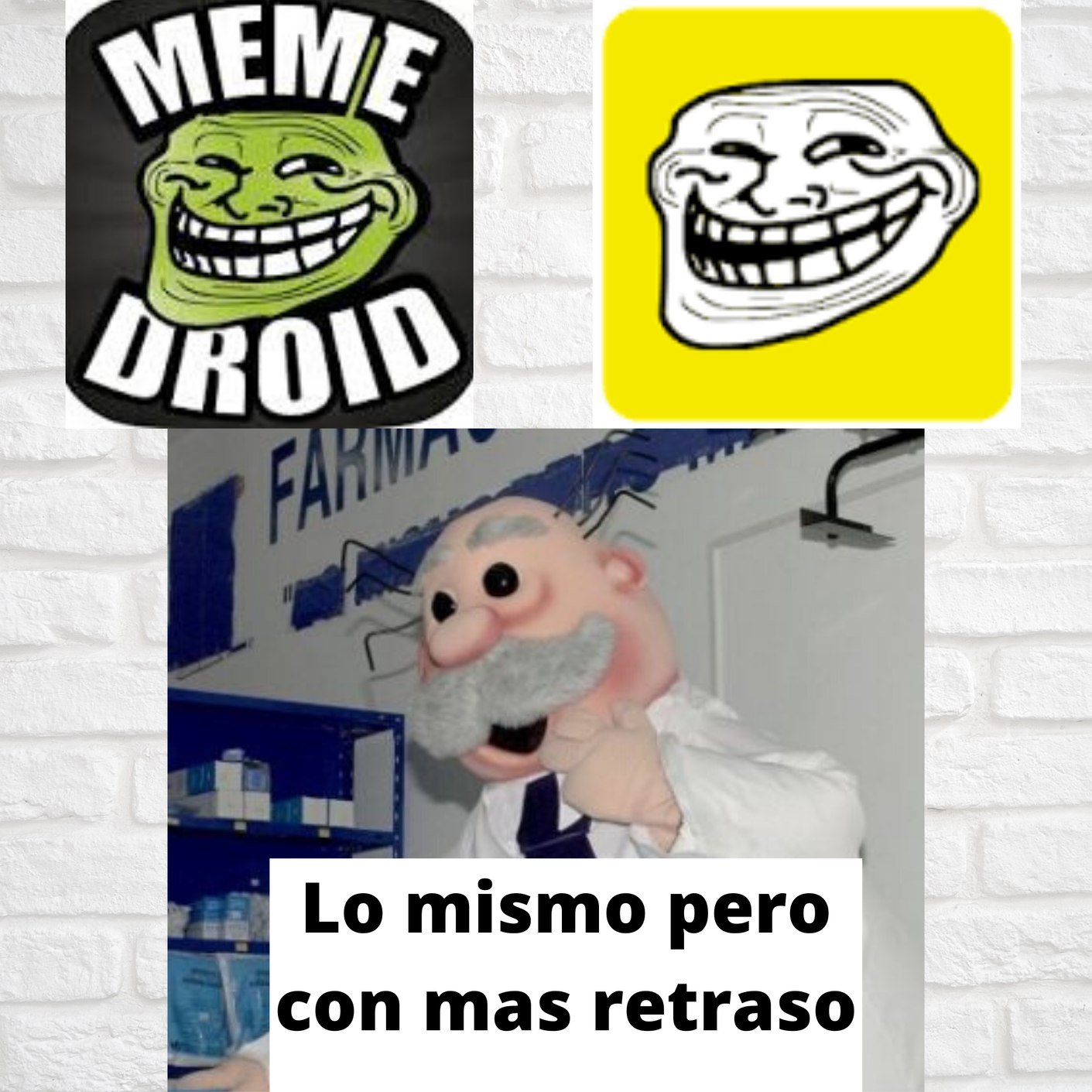 Tremendos subnormales los de memasik - meme