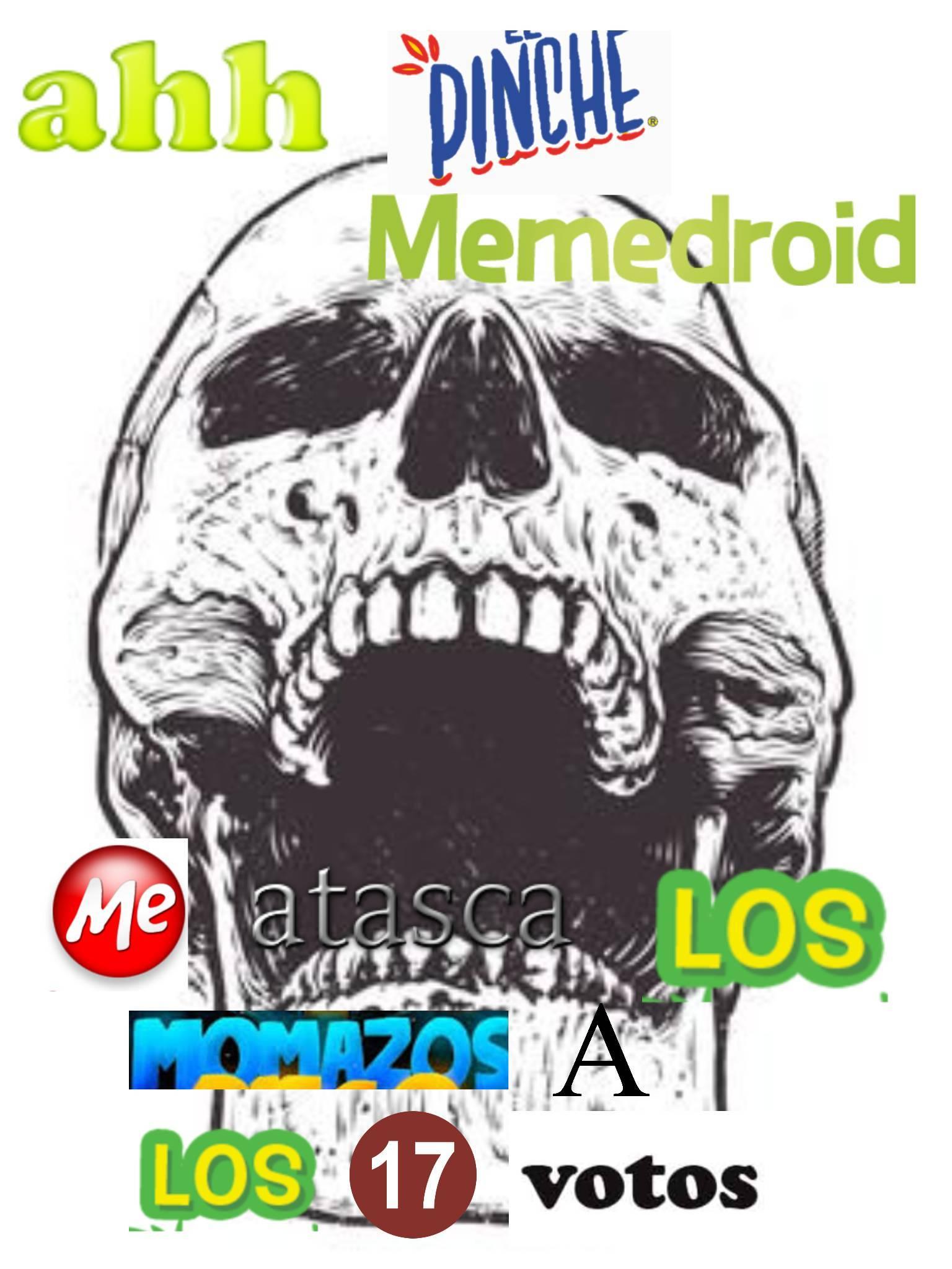 pinche momosdroid - meme