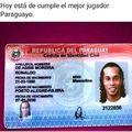ayer cumplio años el mejor jugador de paraguay