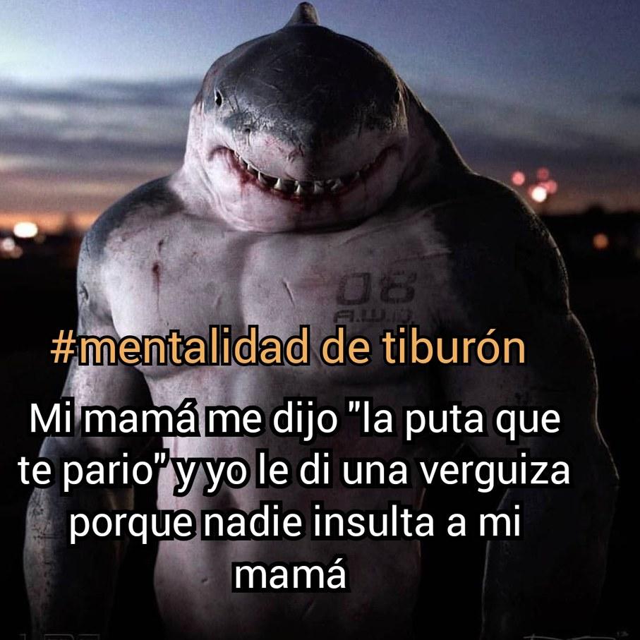 #mentalidad de tiburón - meme