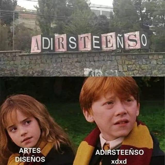 ADIRSTEEÑSO - meme