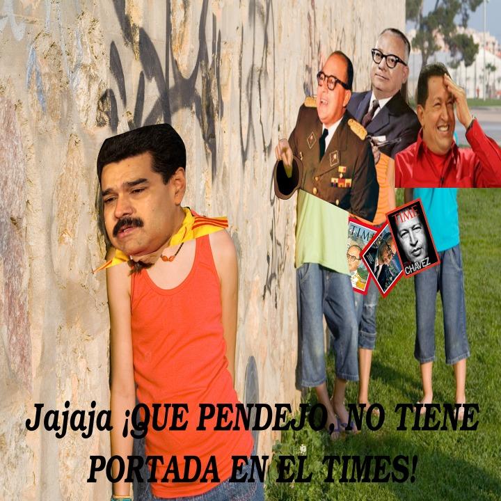 Con las portadas del Times se puede sacar, sencillamente, a los políticos que cambiaron el rumbo de Venezuela... Lástima que el último personaje no haya hecho un buen cambio... - meme