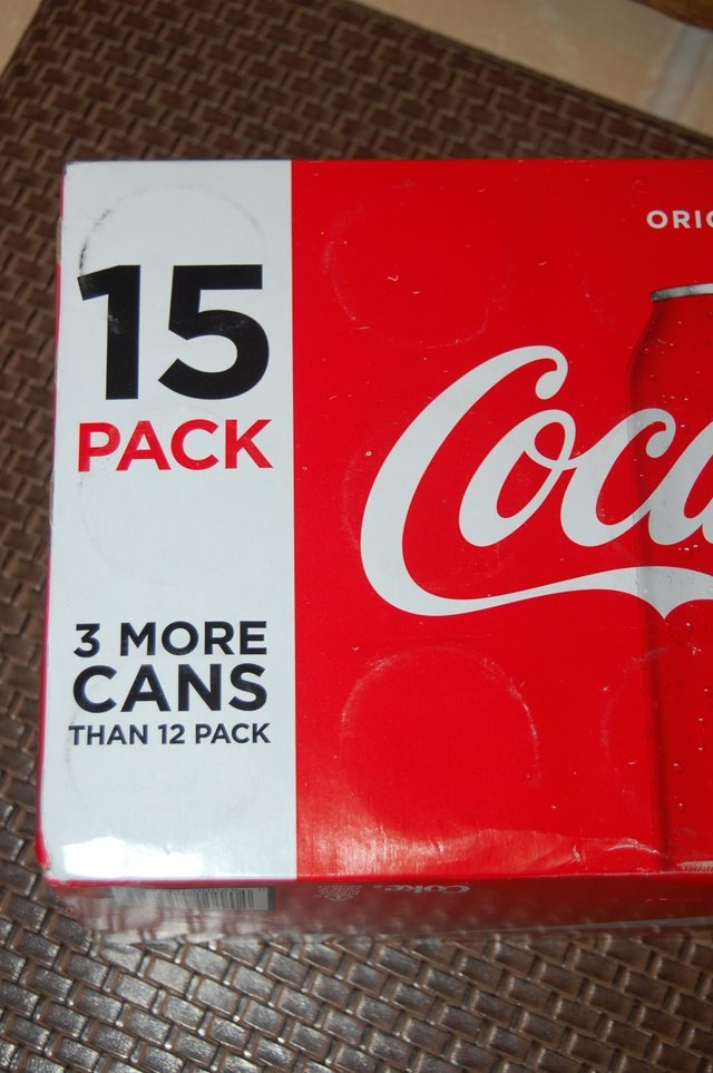 Coca Cola can count! - meme