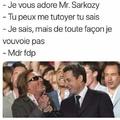 Sarkozy le fdp