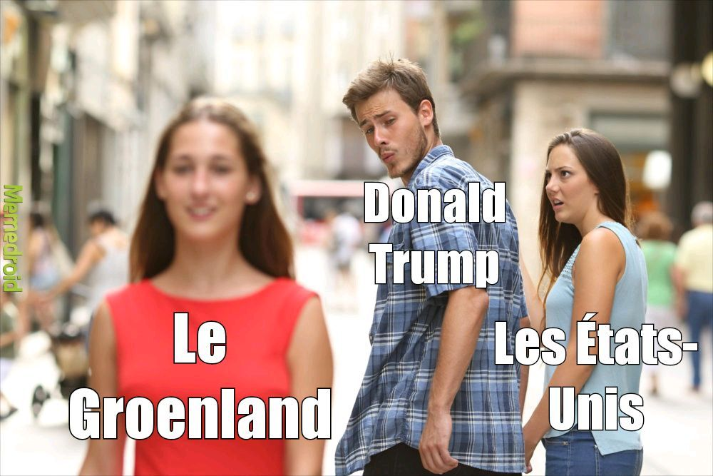Groenland Great Again ! - meme