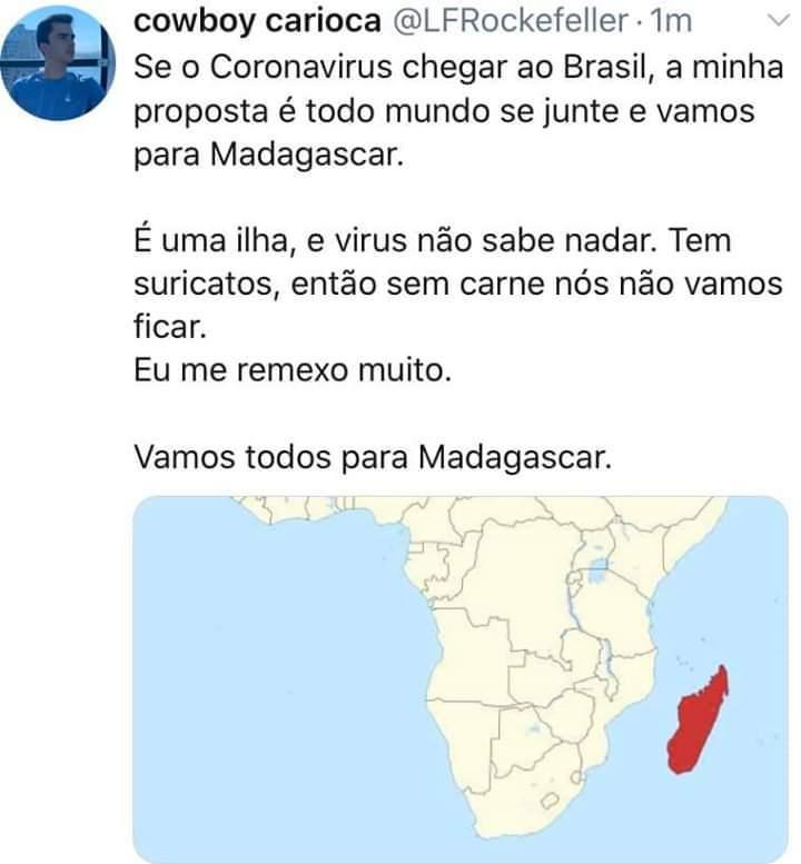 SOLUÇÃO PARA O CORONAVIRUS - meme