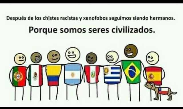 Soy ofensivo y esto es Chileno - meme