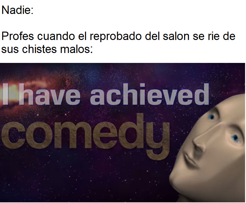 Ese profe - meme