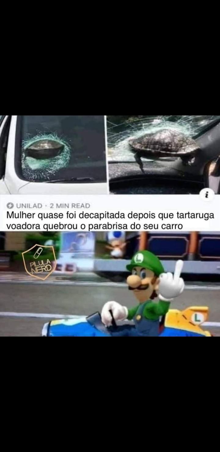Luigi full pistola - meme
