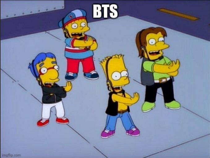 BTS is trash. - meme