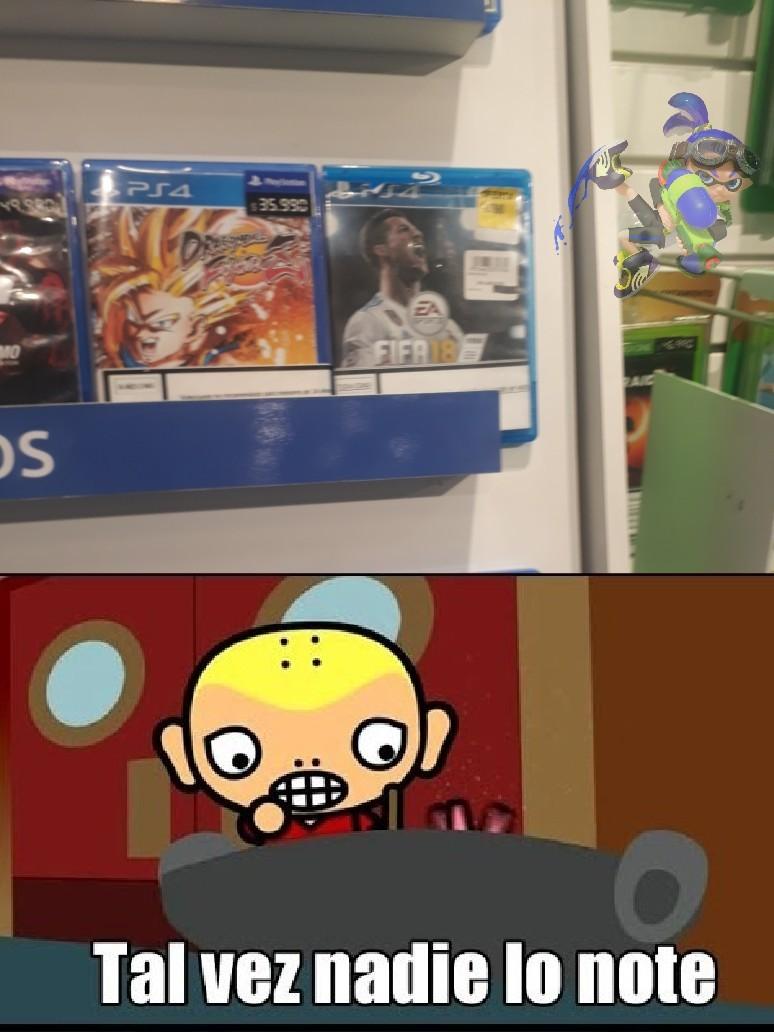 Lo encontré en el mall - meme
