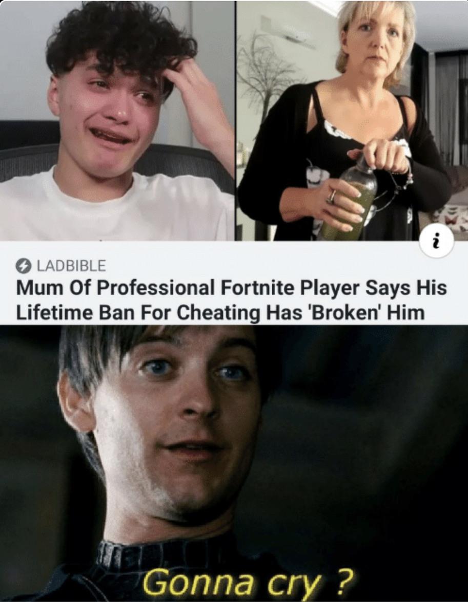 Gonna cry? - meme