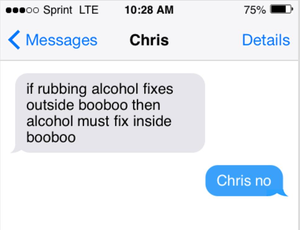 im with chris - meme
