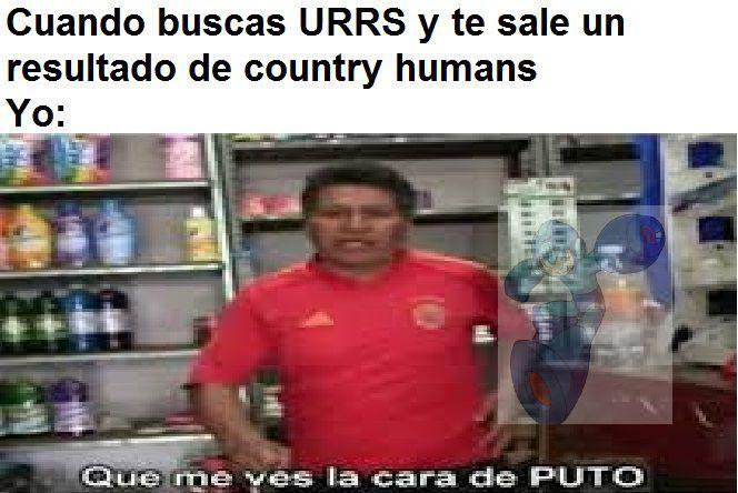 Una vez estaba viendo imágenes de la URRS y me salieron algunos country humans de URRS - meme