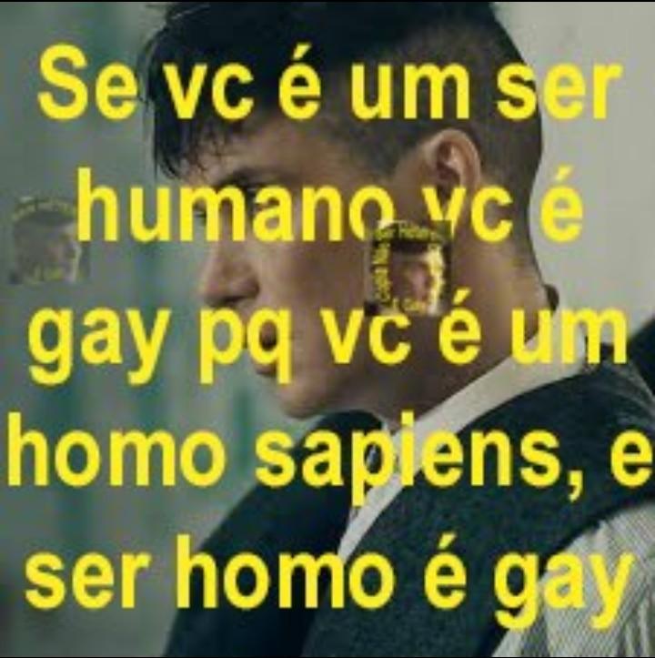 seu homo homo - meme