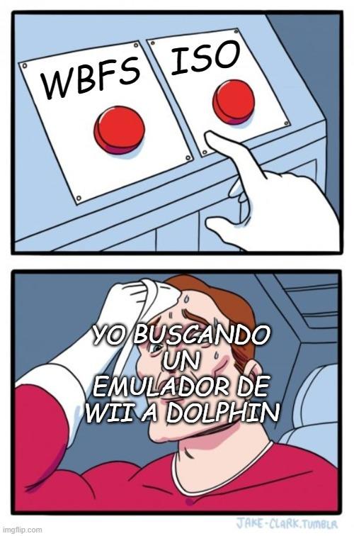 en caso de querer descargarme algun juego de wii para dolphin :whynot: - meme
