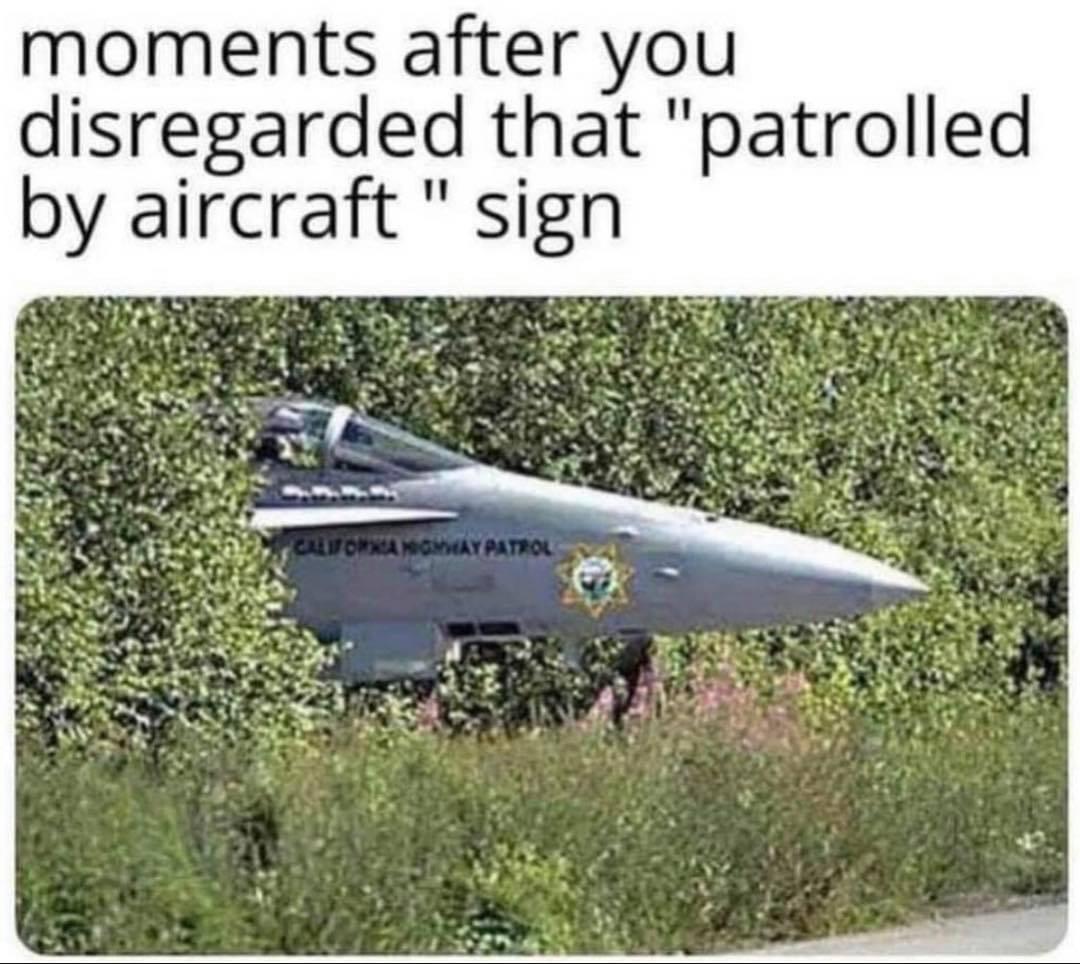 Hard to outrun - meme