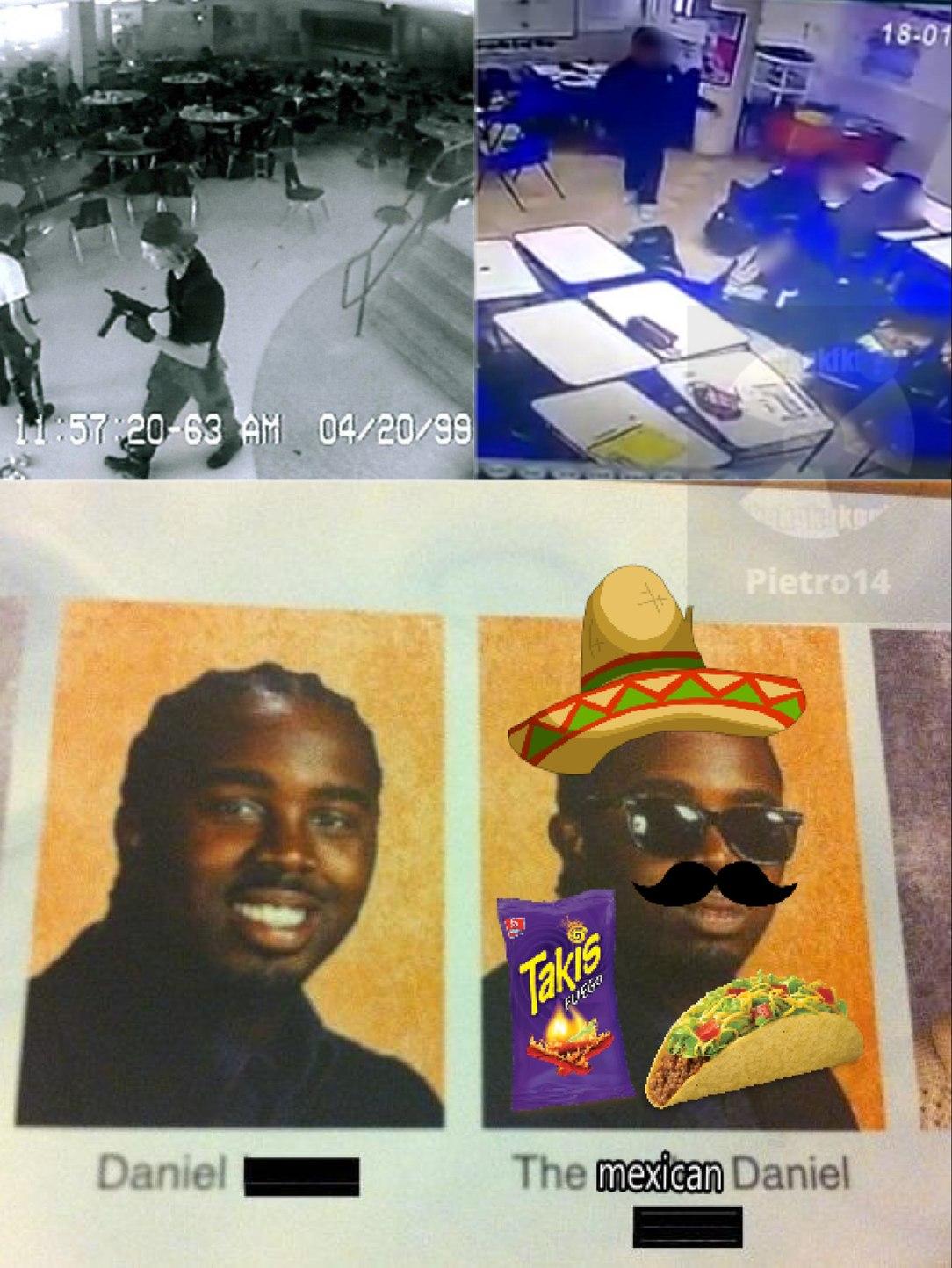 los mexicanos tiroteando - meme