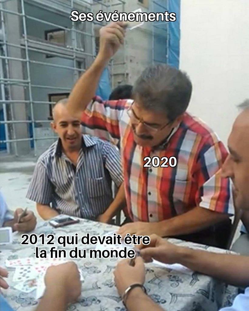On peut dm 2020 pour qu'il arrête ? - meme
