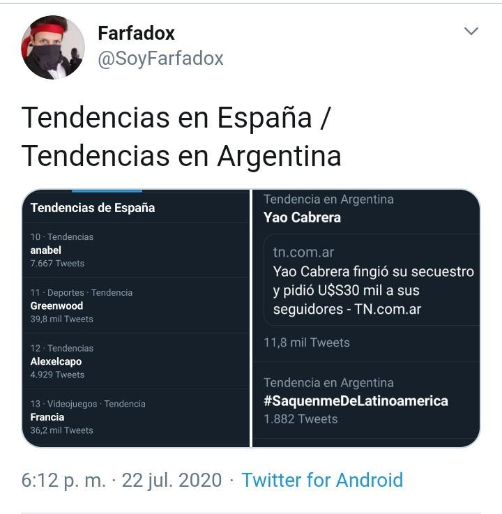 Saquenme de argentina porfavor - meme