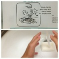 perfect tutorial on how to wash your hands