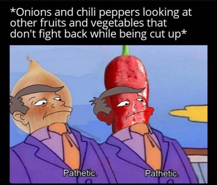 pathetic - meme
