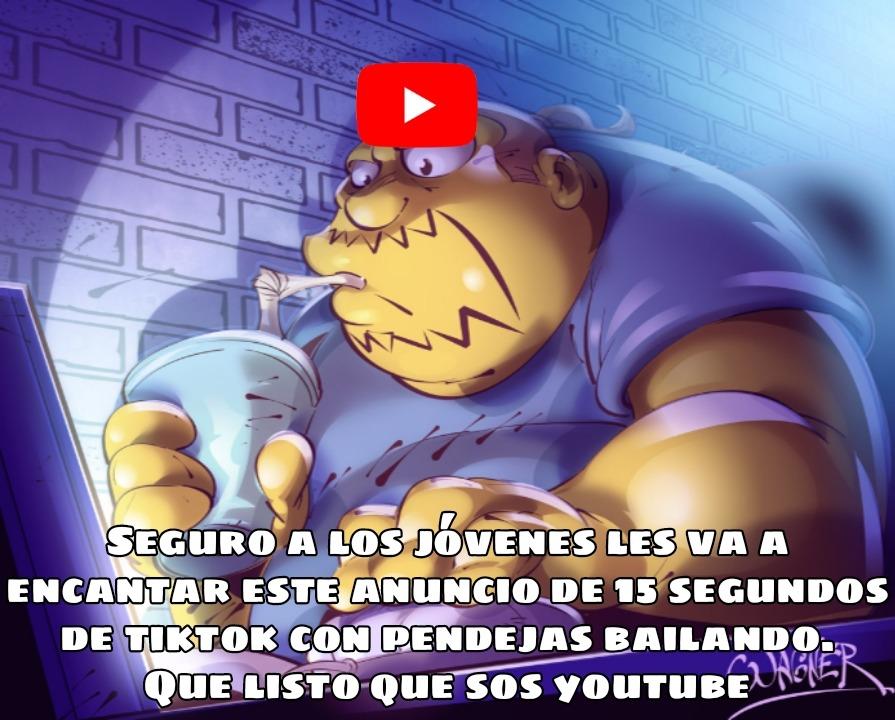 Anuncios de YouTube - meme