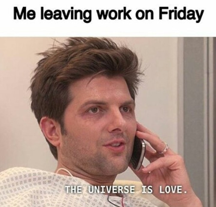 Friday feeling - meme