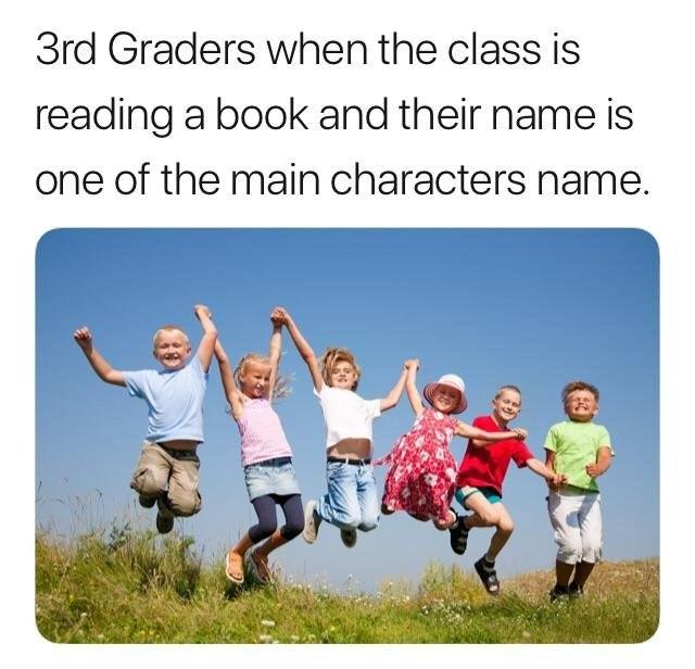 3rd graders happiness - meme