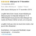 Gilet jaune à 0.98€. Le commentaire le plus pertinent